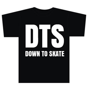 Down to Skate Black Shirt