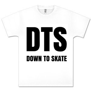 Down to Skate White Shirt