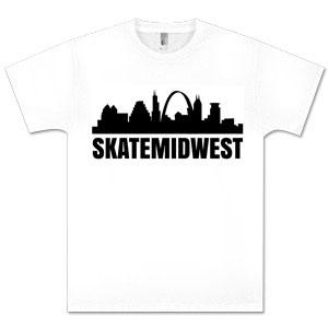 SkateMidwest White Shirt